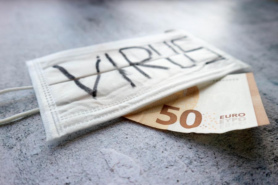 koronawirus waluta euro
