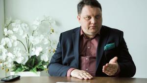 Marcin Chludziński prezes zarządu KGHM  fot. Wojtek Górski