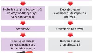 Modelowa procedura dostępu do informacji publicznej w razie jej nieudostępnienia