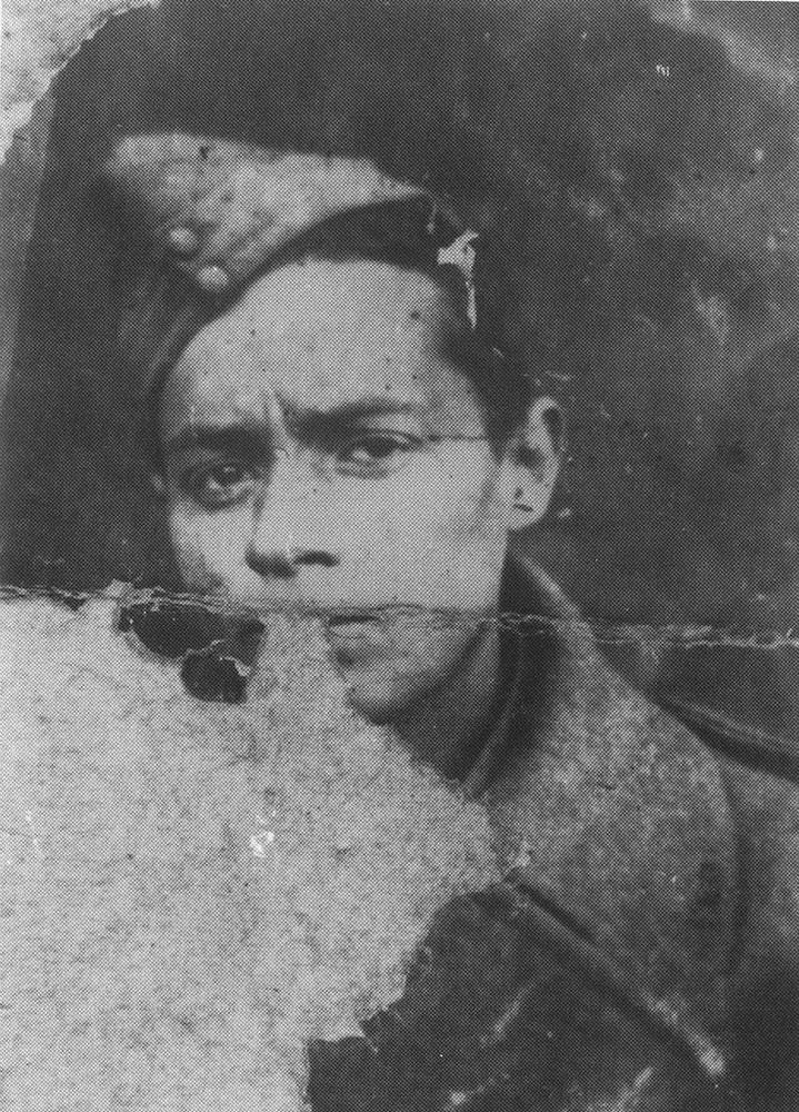 Józef Hen w Samarkandzie, wrzesień 1942, fot. ze zbiorów prywatnych Józefa Hena