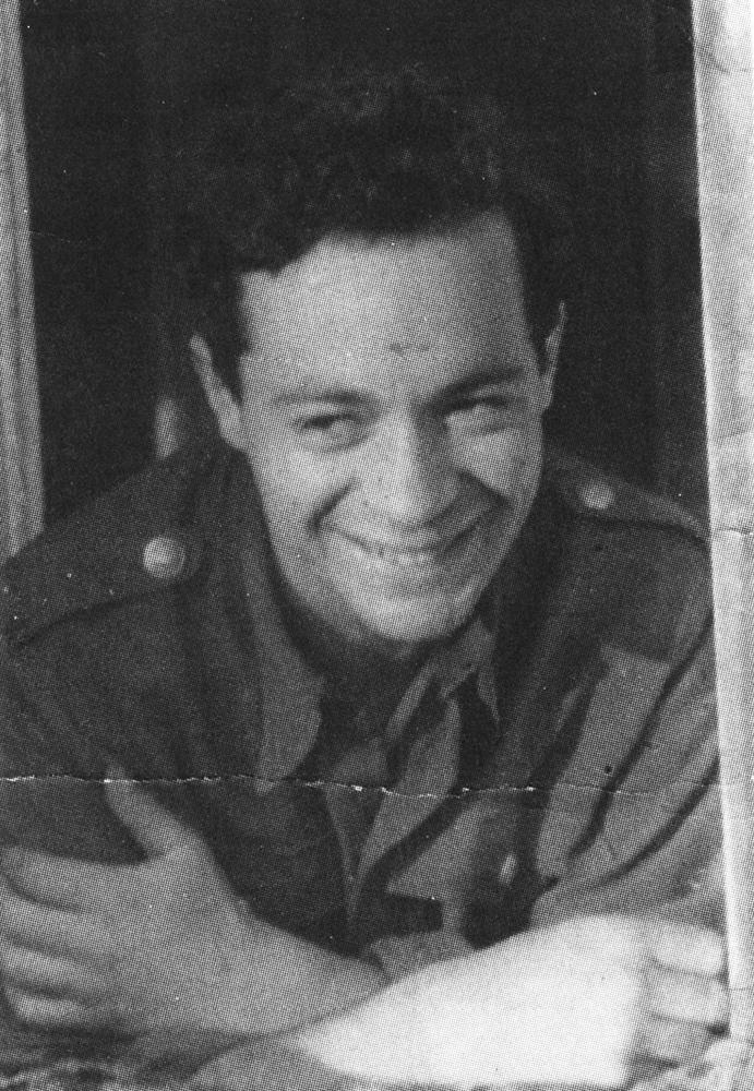 Józef Hen. Kraków, wiosną 1947, fot. ze zbiorów prywatnych Józefa Hena