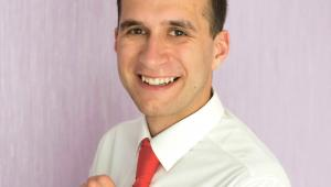 dr Sebastian Szklarek, adiunkt w Polskiej Akademii Nauk, autor bloga Świat Wody  fot. Tomasz Górski/Materiały prasowe