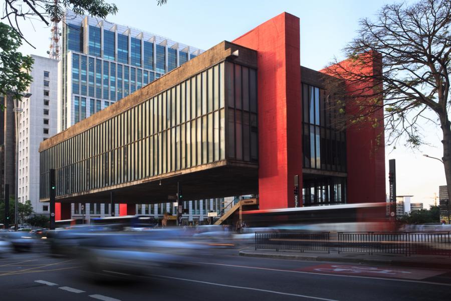 Museu de Arte de São Paulo, Brazylia, sztuka, galeria