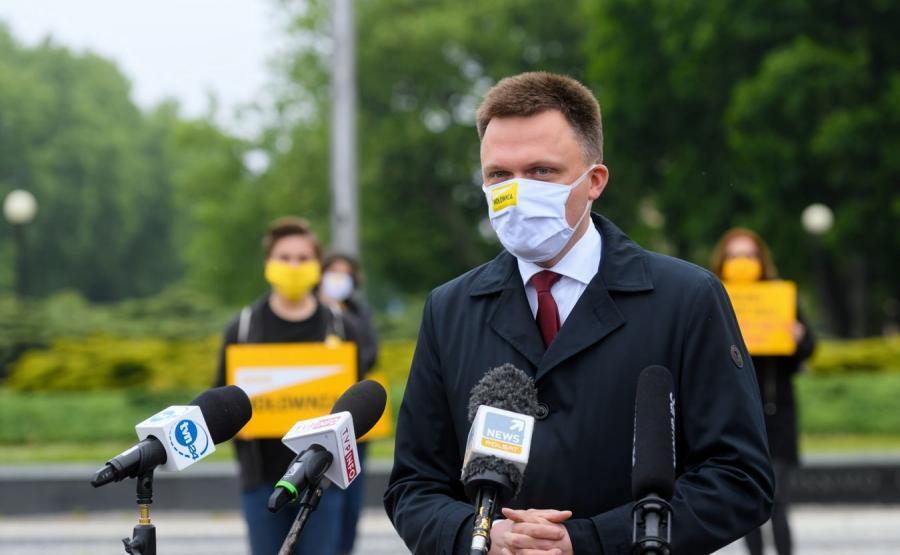 Szymon Hołownia wybory prezydent