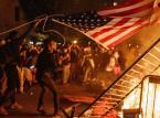 Nocne zamieszki przed Białym Domem