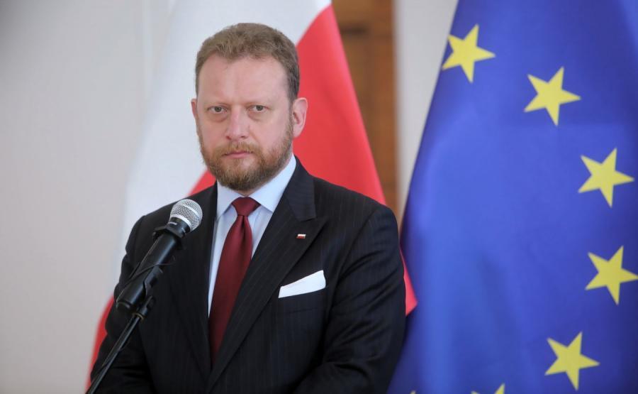 Łukasz Szumowski minister zdrowia konferencja