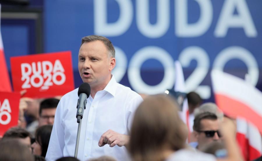 Andrzej Duda płonsk