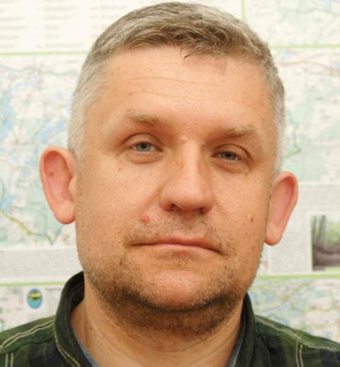 Paweł Śliwa zastępca dyrektora Zespołu Parków Krajobrazowych Województwa Wielkopolskiego