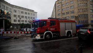 Warszawa po ulewie