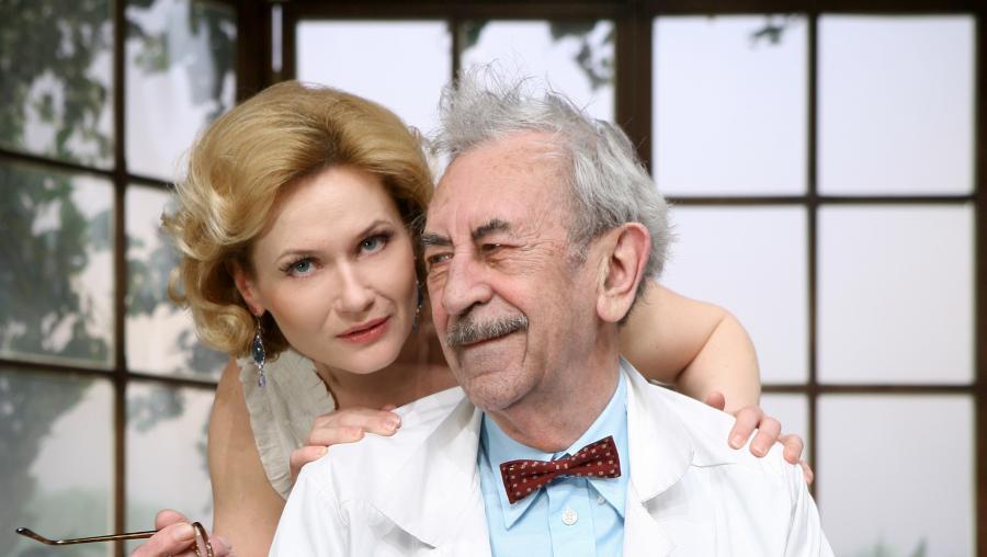 Jan Kobuszewski, Lucyna Malec, Przyjazne dusze, Teatr Kwadrat