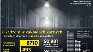 Osadzeni w zakładach karnych