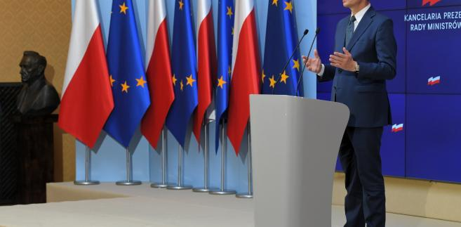 Premier Morawiecki zaapelował o zwołanie nadzwyczajnego szczytu RE ws. Białorusi