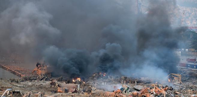 Bejrut po wybuchu