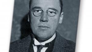 Wacław Sierpiński - matematyk, profesor Uniwersytetu Lwowskiego i Warszawskiego, członek Polskiej Akademii Umiejętności, 1928 / Materiały prasowe