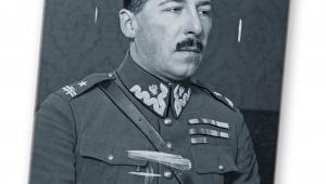 Jan Kowalewski, już jako major, attaché wojskowy Poselstwa RP w ZSRR, 1928–1930 / Materiały prasowe / NAC