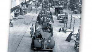 """Montaż samochodów marki Chevrolet, Towarzystwo Przemysłowe Zakładów Mechanicznych SA """"Lilpop, Rau i Loewenstein"""" w Warszawie, 1936–1939"""