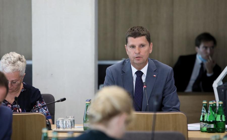 Dariusz Piontkowski z MEN