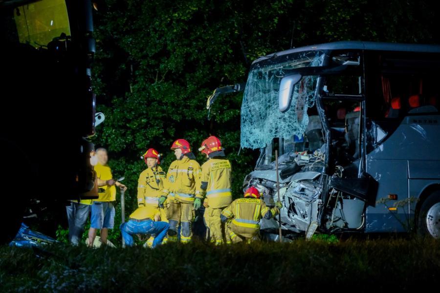 Wypadek w Kleszczowie