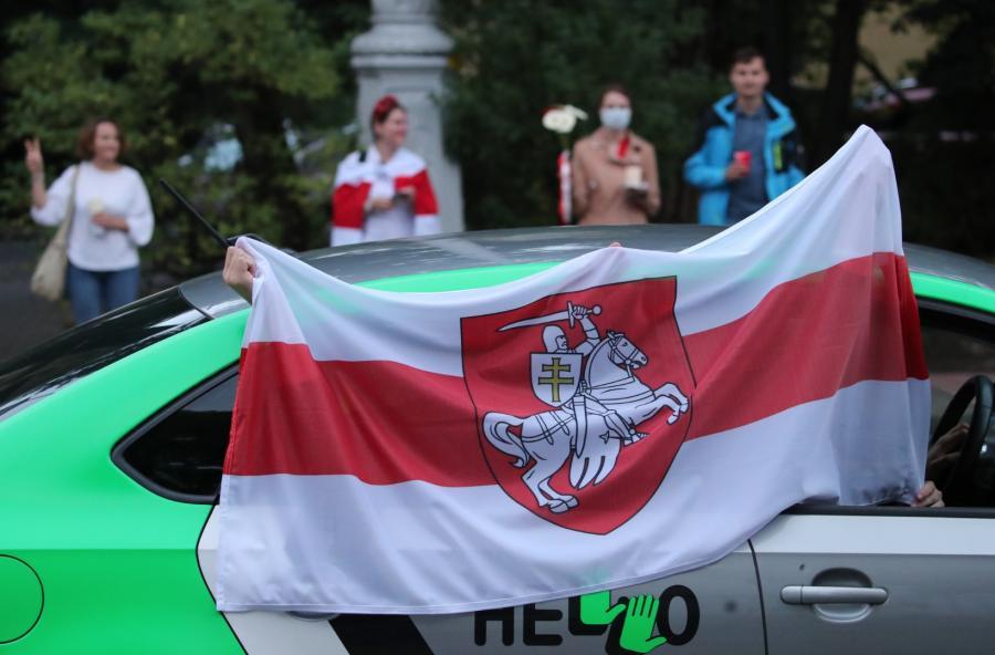 Białoruś. Demonstracje przeciwników Łukaszenki