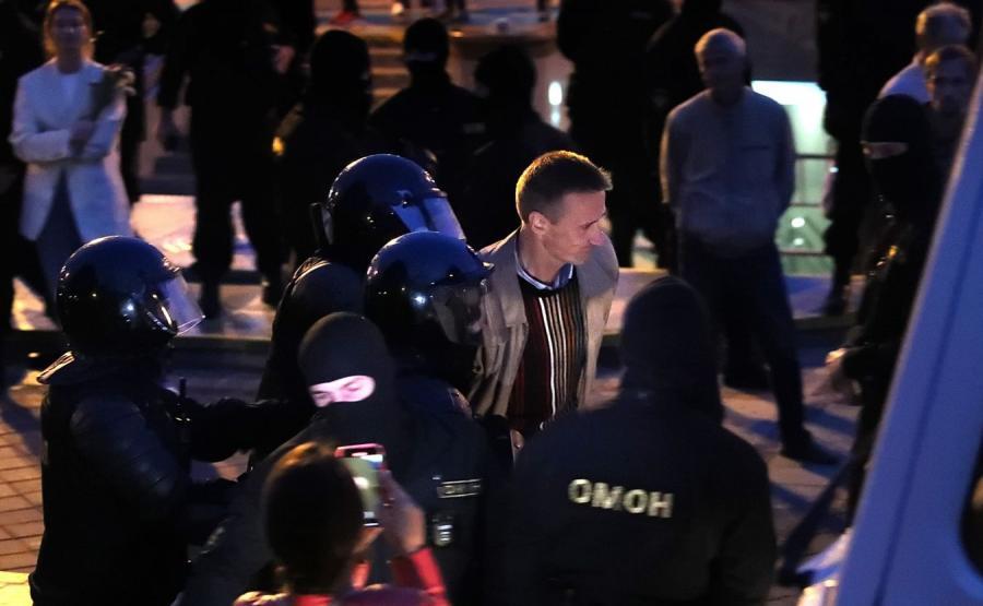 Protest na Białorusi
