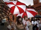 Dziennikarz TVN Zaucha relacjonuje swoje zatrzymanie w Mińsku