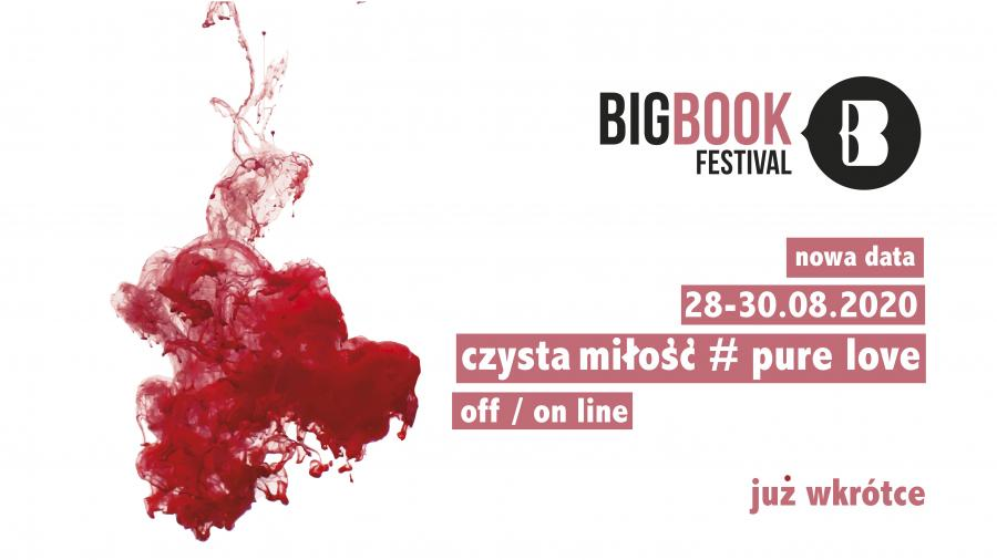 Big Book Festival 2020 plakat
