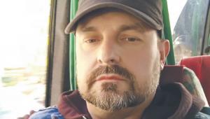 """Przewodniczący zarządu związku górniczego """"Przeróbka"""", Jarosław Niemiec"""