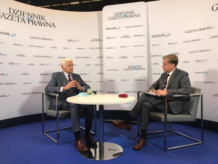 Jerzy Buzek EKG 2020 Katowice