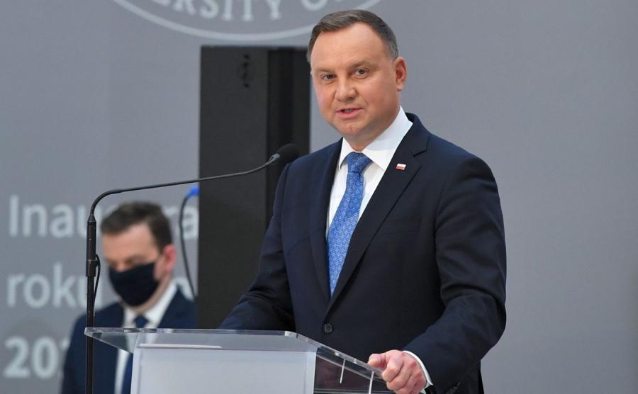 Andrzej Duda na PW