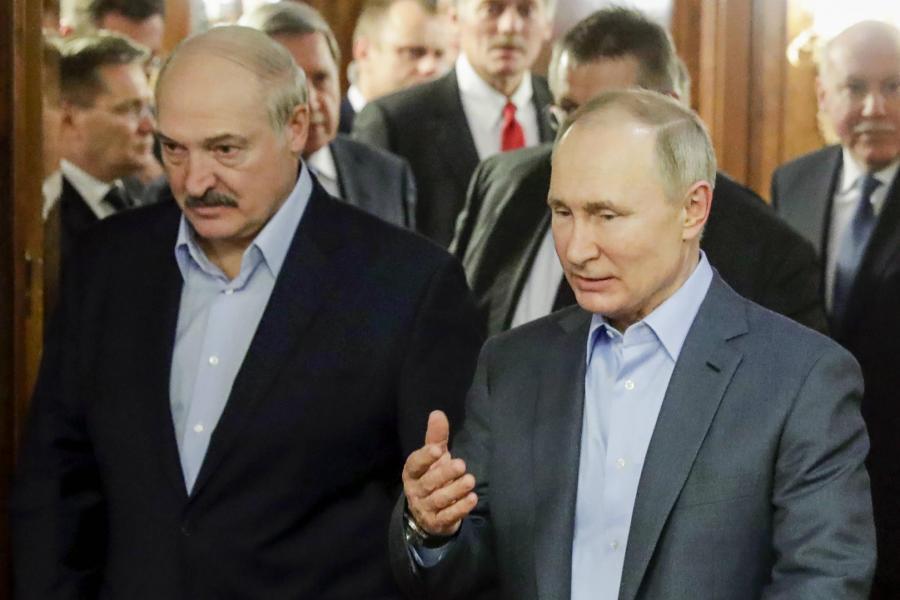 Alaksandr Łukaszenka Władimir Putin