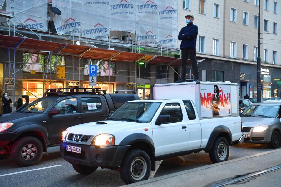 blokada Warszawa 2