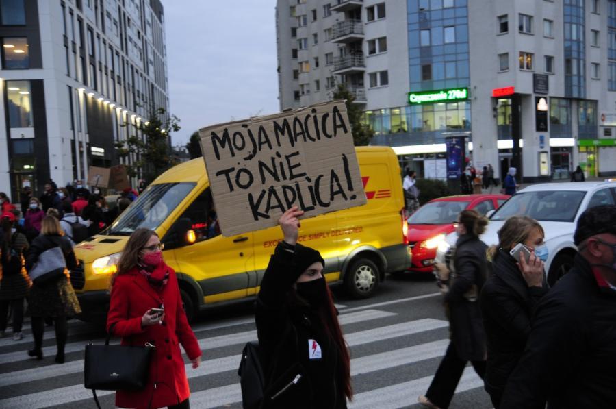 Blokada Ronda Wiatraczna w Warszawie 12