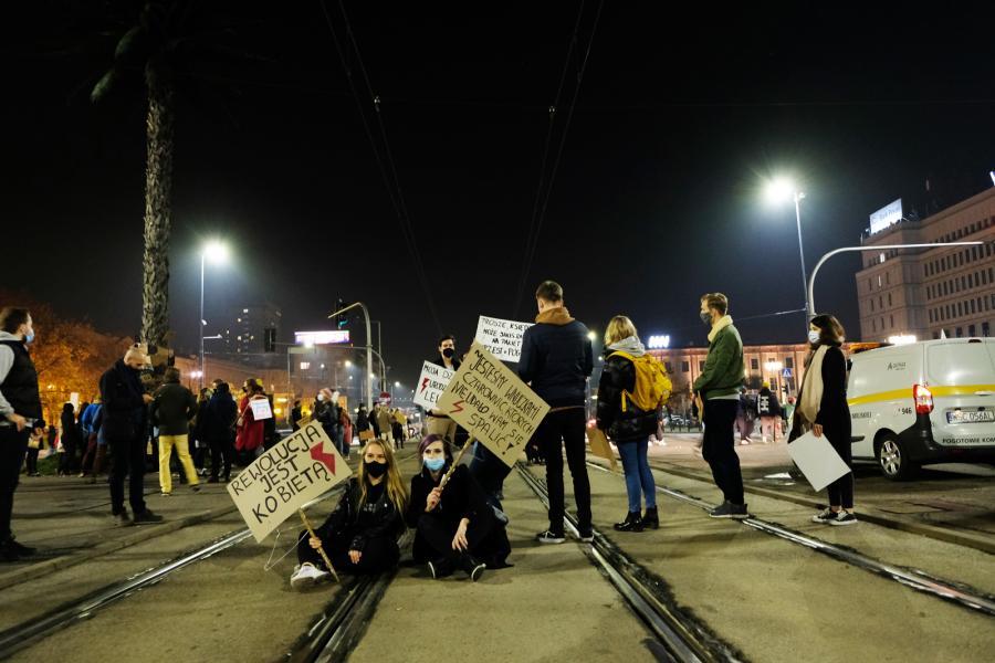 Protesty w Warszawie 28 października 2020 0