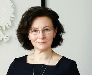 dr Grażyna Żebrowska dyrektor Narodowej Agencji Wymiany Akademickiej