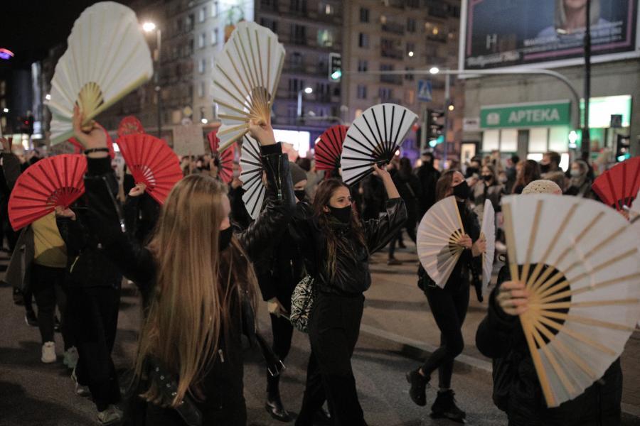 Strajk Kobiet. Marsz \