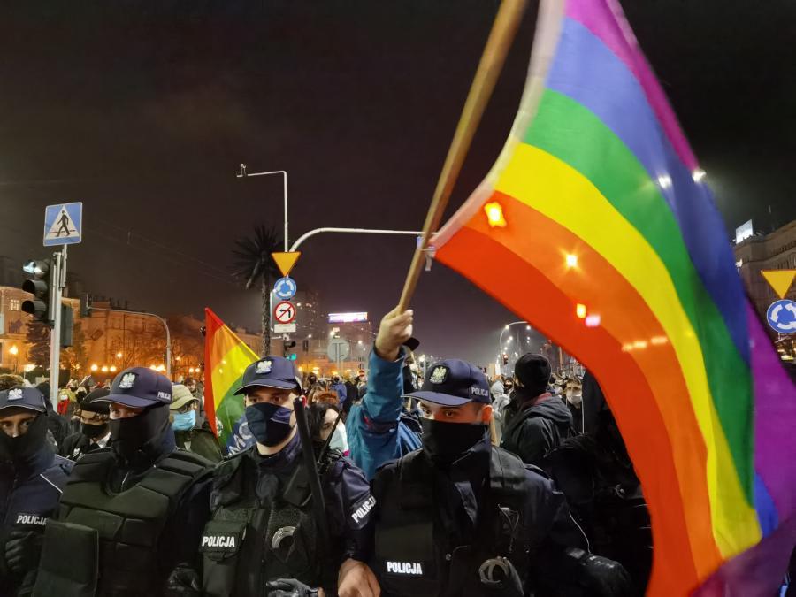 Strajk Kobiet w Warszawie 18 listopada 2020 r (61)