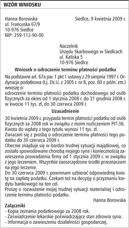 Topnotch Pismo Do Banku O Rozłożenie Długu Na Raty bez sprawdzania baz XL98